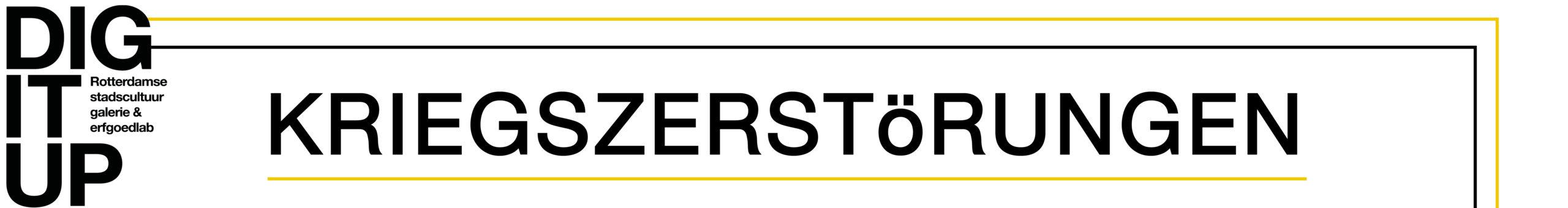 Kriegszerstörungen Rotterdam Logo
