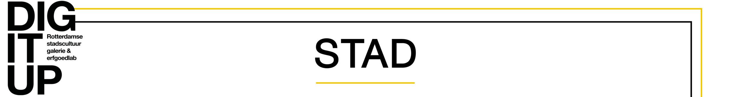 STAD: een expositie voor Rotterdammers Logo